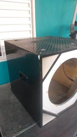 Caixa para woofer e sub de 15 polegadas Ji-Paraná