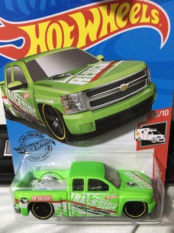 Hot Wheels Chevy Silverado T Hunt - Item De Colecionador