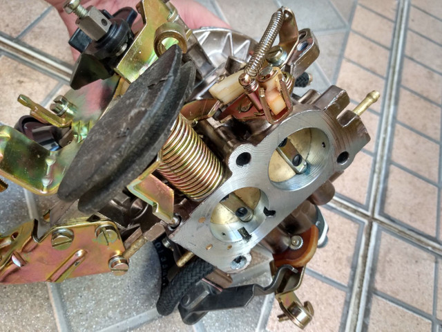Carburador 2E brosol Álcool zerado com mufla - Foto 2