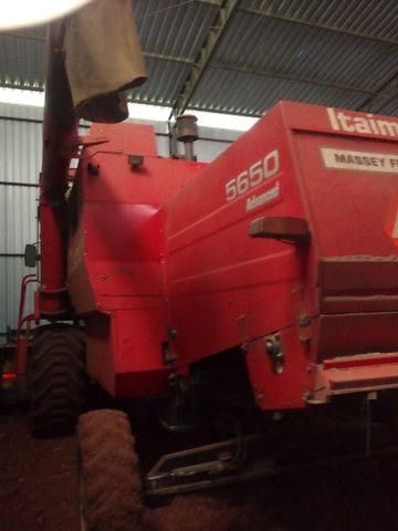 Massey Ferguson   5650   Colheitadeira Agrícola Usada - Foto 3