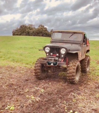 Jeep Ford Willys ano 1962