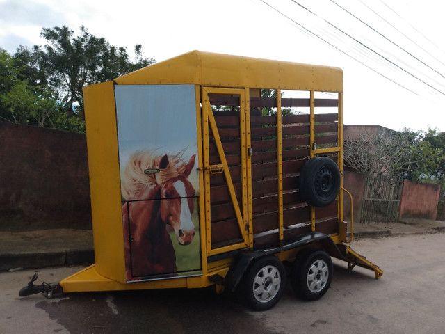 Reboque para cavalo  - Foto 2