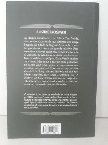 Livro O Mistério da Casa Verde - Foto 2