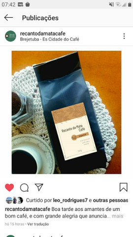 Cafe torrado e Moído Especial