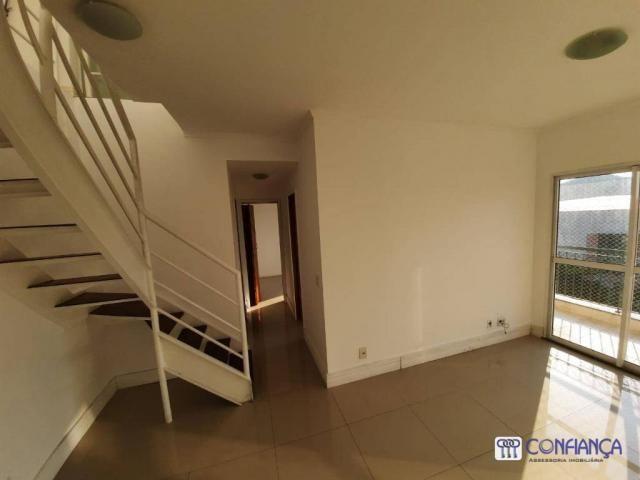 Cobertura com 2 dormitórios para alugar, 147 m² por R$ 2.200,00/mês - Campo Grande - Rio d - Foto 8