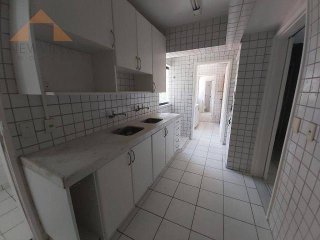 Apartamento com 4 quartos para alugar, 170 m² por R$ 6.000/mês com taxas- Boa Viagem - Rec - Foto 13