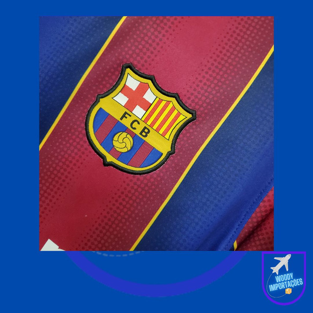 Camisa I Barcelona 2020/2021 - Foto 4