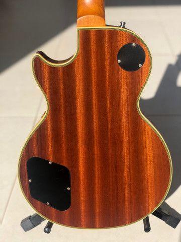 Guitarra Epiphone by Gibson Les Paul CUSTOM - edição limitada - Foto 5
