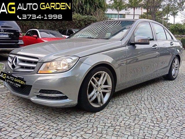 Mercedes Benz c180 2012 cgi(turbo)Blindada n3a+aut/tip+toplinha+couro+absurdamente nova!!! - Foto 3