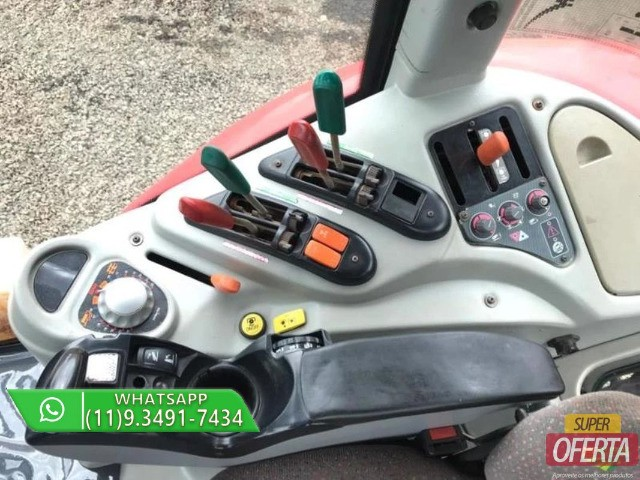 Trator Massey Ferguson 7390 4x4 ano 13 - Foto 6