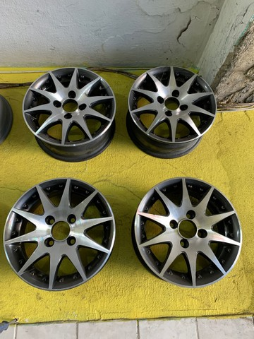 Roda 13 Volkswagen,Fiat e chevrolet - Foto 3