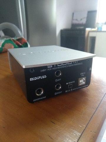 Interface de áudio Studio M 24 bits - Foto 3