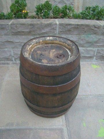 Barril de shopp em madeira antigo - Foto 4