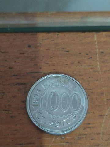 Moeda de mil cruzeiros 1993