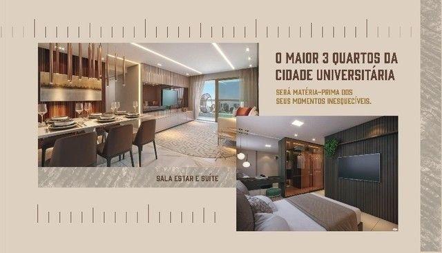 JS- Lançamento Várzea, ao lado da UFPE - 3 quartos 65-83m² | Praça das Seringueiras - Foto 9