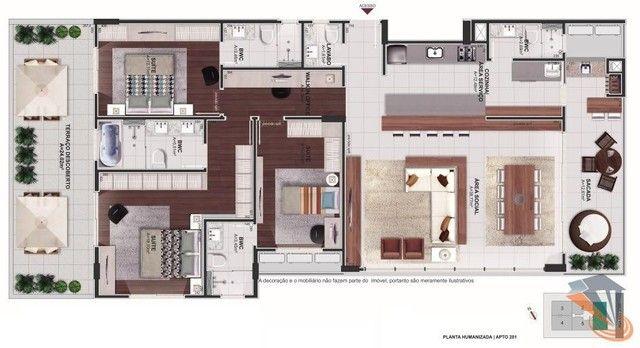 Apartamento com 2 dormitórios à venda, 91 m² por R$ 670.000,00 - Balneário - Florianópolis - Foto 15