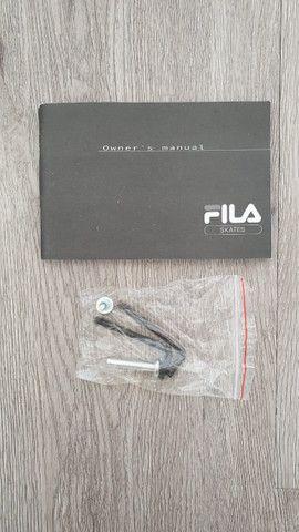 Patins/Roller Fila X-One Ajustável -Seminovo - Foto 6