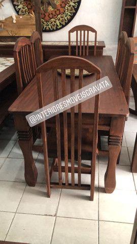 Móveis de qualidade madeira angelin pedra  maciça  - Foto 3