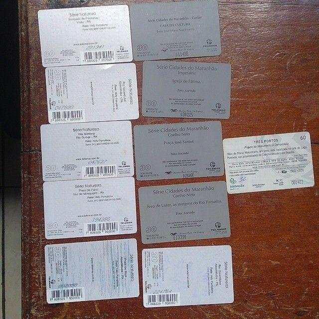 Cartões de telefone - Foto 4