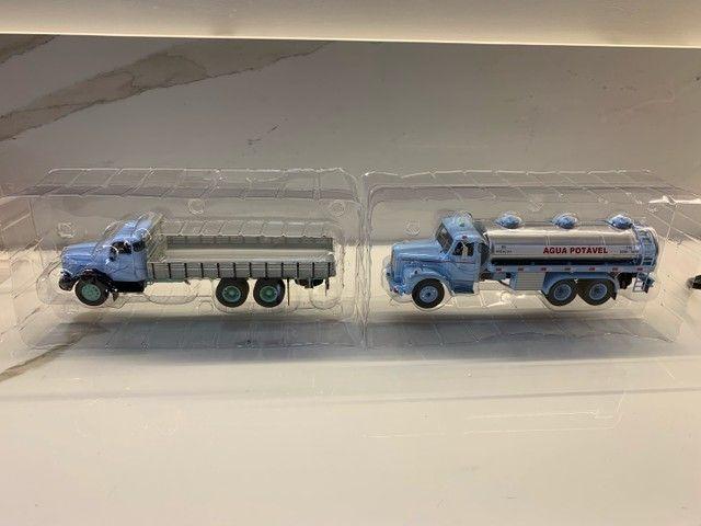 Miniaturas Coleção caminhões do Brasil