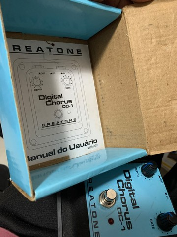 Pedal Onerr Greatone Digital Chorus Dc-1 - Foto 3
