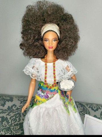 Boneca Barbie Collector Brasil Baiana - Foto 2