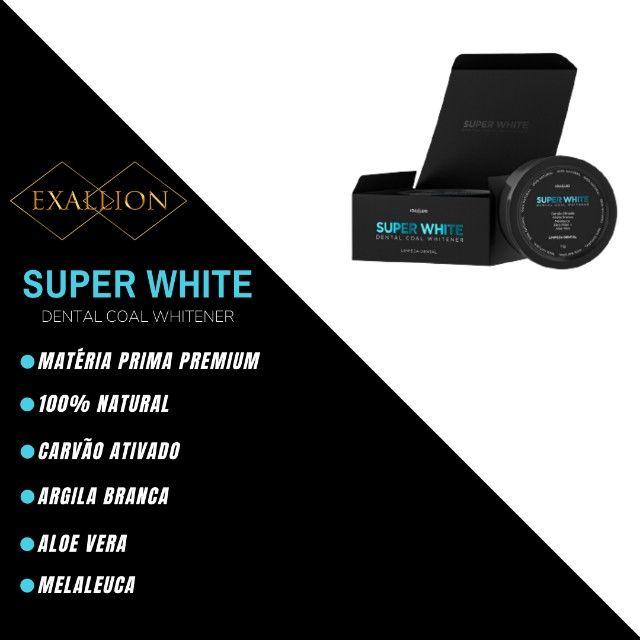 Clareador Dental Com Carvão Ativado ''Super White'' Fórmula Exclusiva - Foto 2