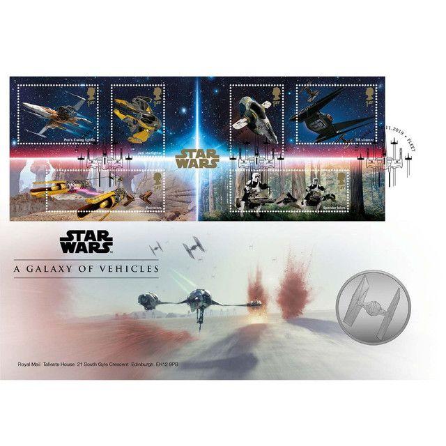 Star Wars: Medalha Uma Galáxia De Veículos Edição Limitada - Foto 2