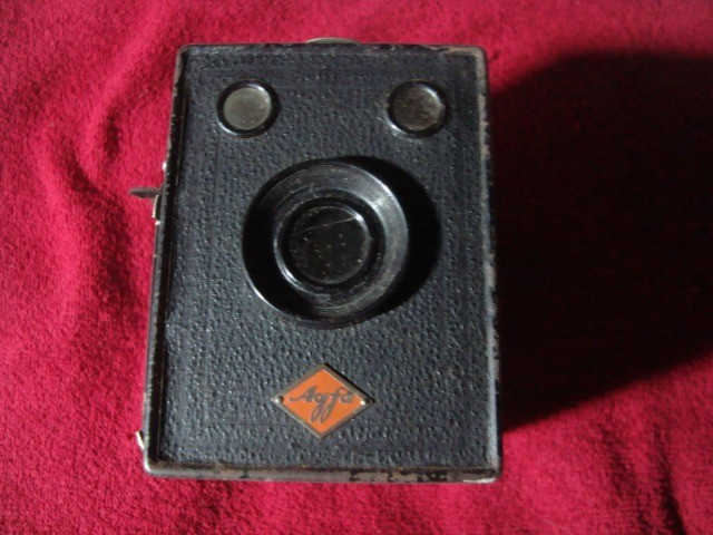 Máquina Fotográfica Antiga Marca Agfa - Rara