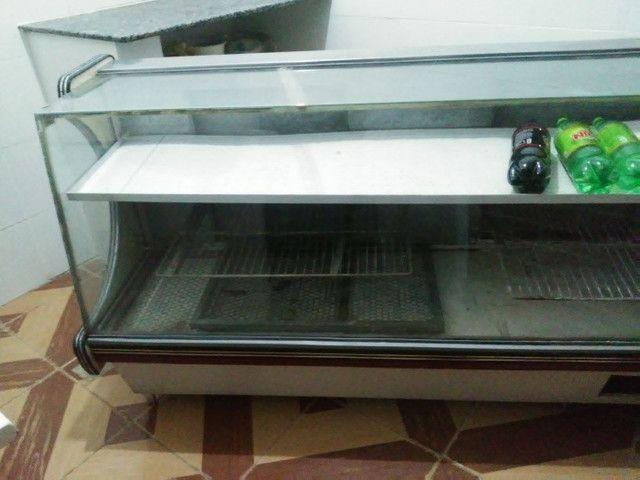 Freezer espositor gelado. Bom estado de conservaçao - Foto 5