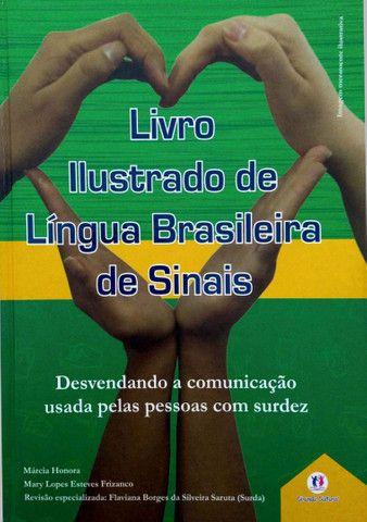 2 Livros Ilustrados da Língua Brasileira de Sinais