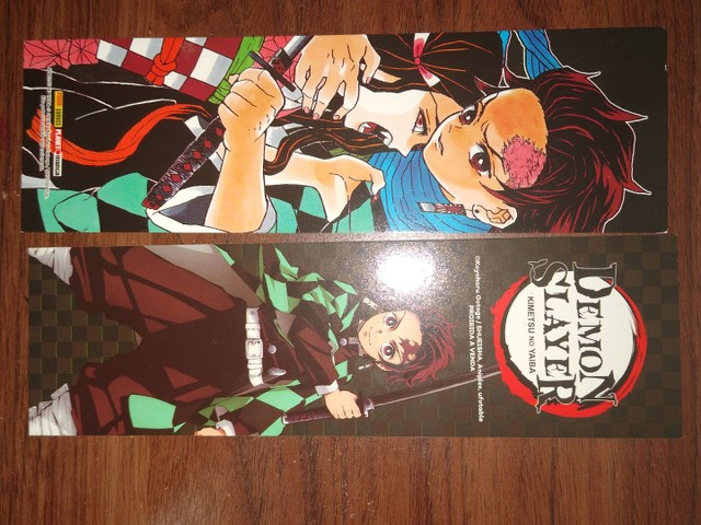 Vendo os 3 primeiros Volumes do Mangá Demon Slayer - Foto 3
