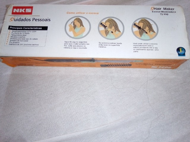 Escova modeladora e ondulador - Foto 2