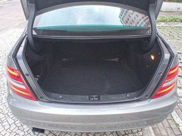 Mercedes Benz c180 2012 cgi(turbo)Blindada n3a+aut/tip+toplinha+couro+absurdamente nova!!! - Foto 9