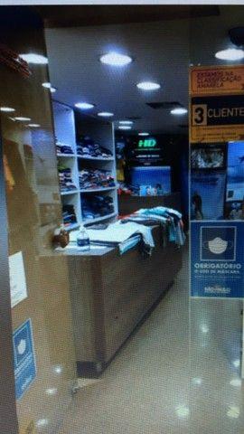 Alugo Loja Shopping Parque Balneário Gonzaga Santos - Foto 11
