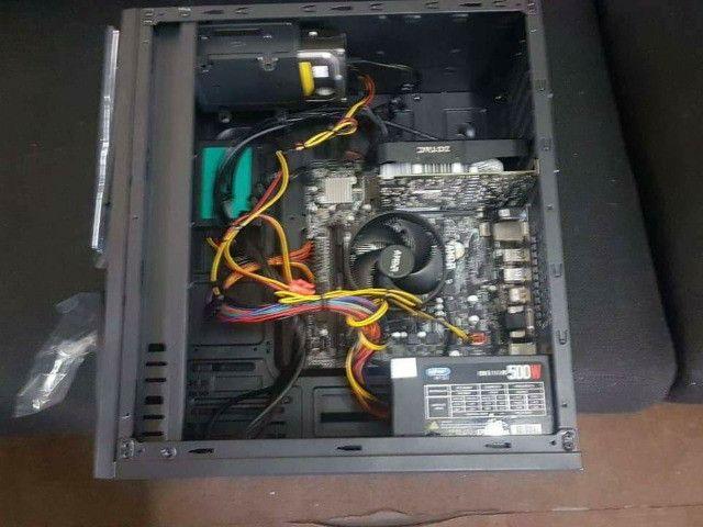 CPU Amd Ryzen 7-3.0ghz-16gb RAM-240gb SSD e Hd 500gb dados-4gb GeForce 1050 ti gamer - Foto 5