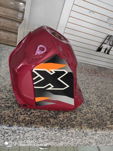 Tanque Novo NX200 2000 Vermelho Original Honda - Foto 4