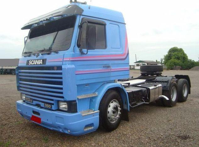 SCANIA 113 360 FRONTAL TOP LINE 6X2