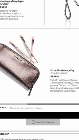 Mary Kay a pronta entrega ?