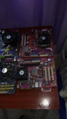 Placas peças e hds. memorias etc