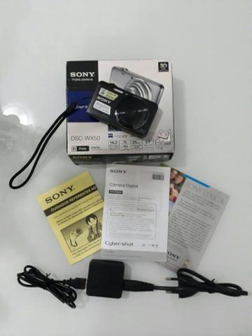 Câmera digital Sony DSC-WX50 16,2mp Top