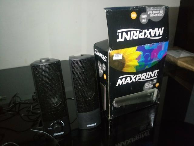Caixa de som usb sound Bar 5w rms