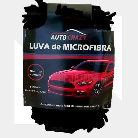 Luva De Microfibra Auto Crazy 26x19 Cm