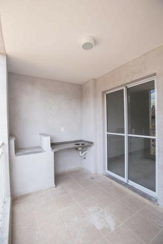 Apartamento com 3 dorms, 1 suite e 2 vagas de garagem no ABC - Foto 2