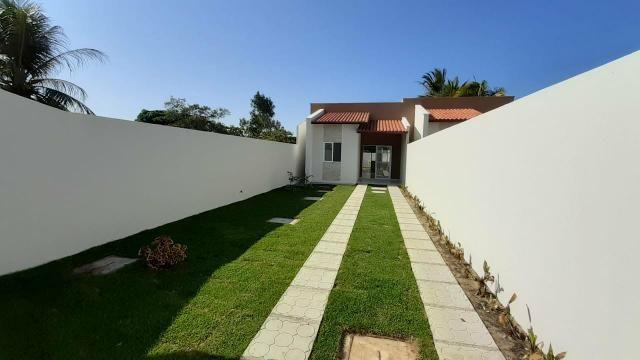 Grande lançamento no Eusébio casas planas 3 quartos