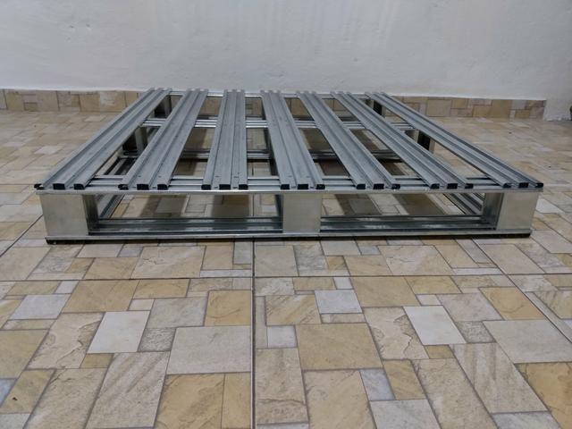 Pallet Metalico Galvanizado - Foto 3