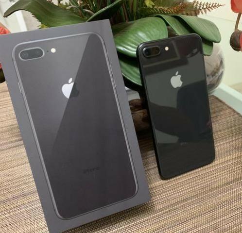 IPhone 8 Plus - 64GB Space Gray Desbloqueado - Completo - Caixa - Nf - até 12x