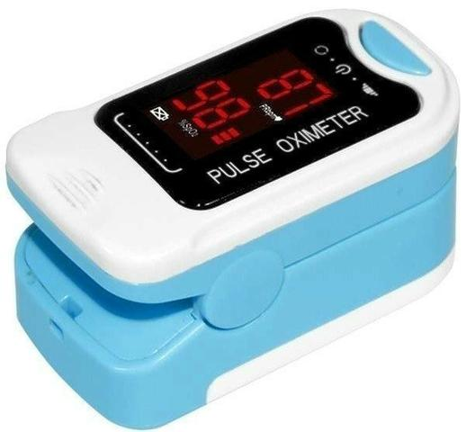 Oximetro Contec Cms50m Portátil Dedo Pulso Oxigênio Sangue - Foto 2