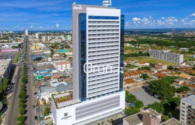 Sala à venda, 101 m² por r$ 676.000,00 - vila são tomaz - aparecida de goiânia/go