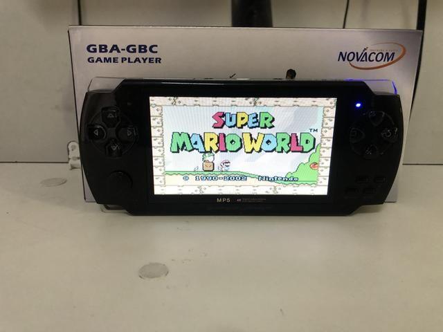 Video Game Pmp Portátil 10mil Jogos Roms Gba Nes Gbc Player Mp3 Mp5 Fm - Foto 3
